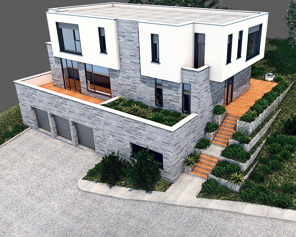 Residential house in Dragalevtsi neighborhood