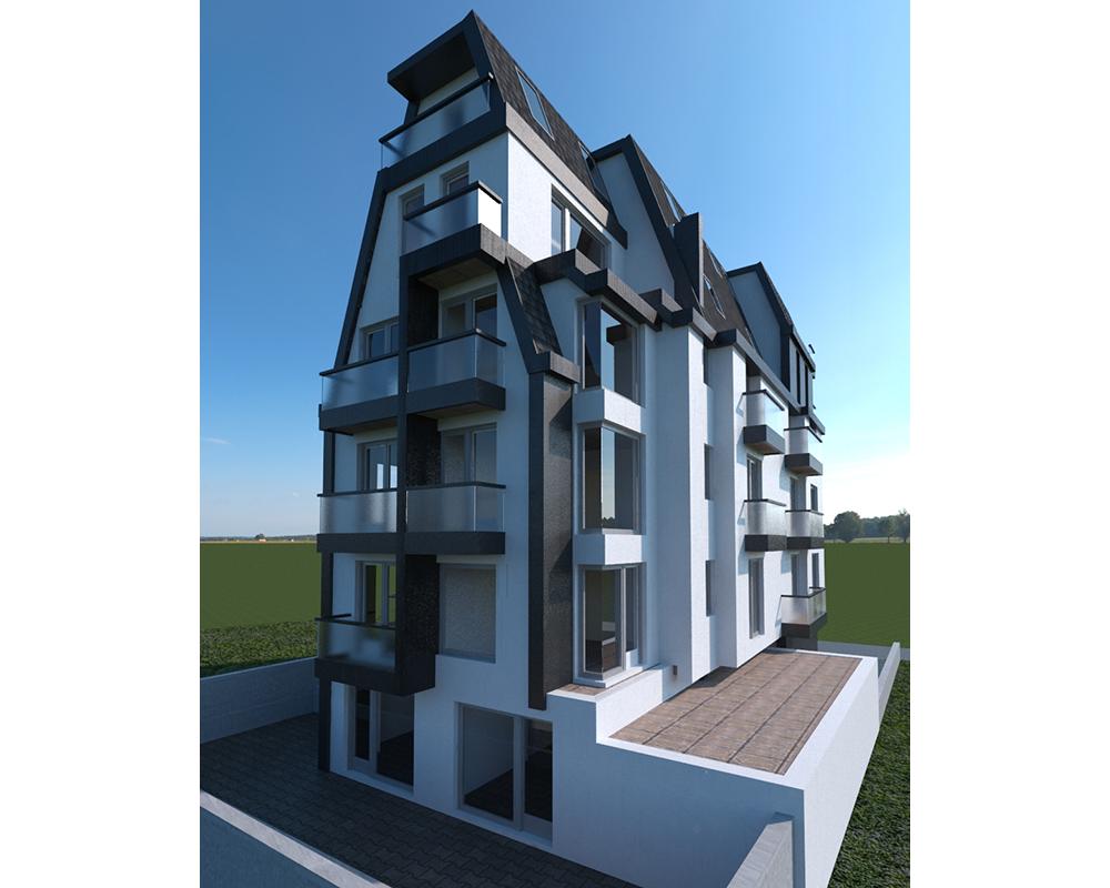 Residential Building in Sofia, Geo Milev