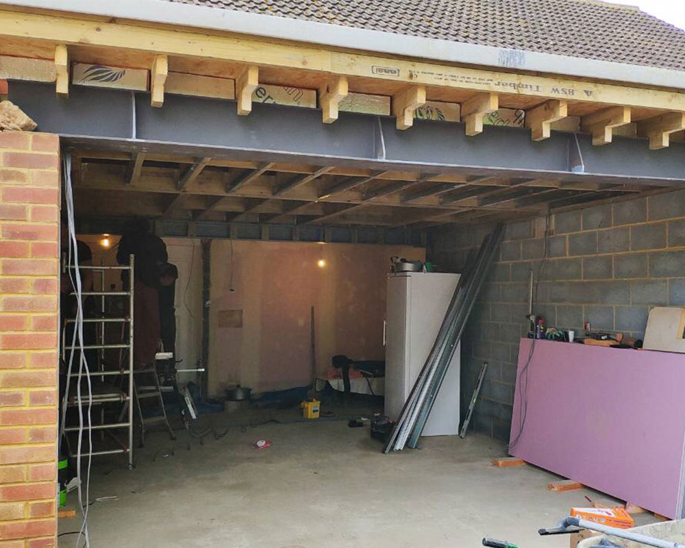 Family house extension