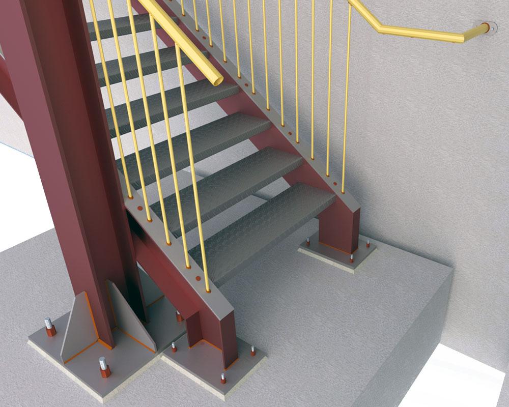 Evacuation staircase