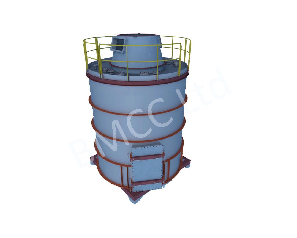Silos for CFB Boiler